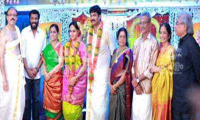 Menaka Suresh Daughte Revathi Marriage Photos