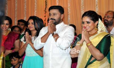 Dileep and Kavya Madhavan Wedding Photos