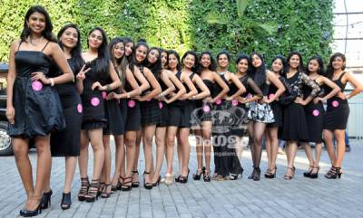'Miss South India' Contestents Photo Shoot