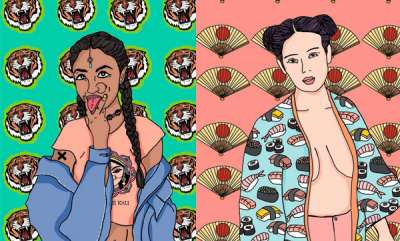 surprise-mumbai-artist-painted-goddesses-as-modern-feminist-women