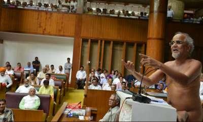 latest-news-nude-saints-speech-in-haryana-niyamasaba