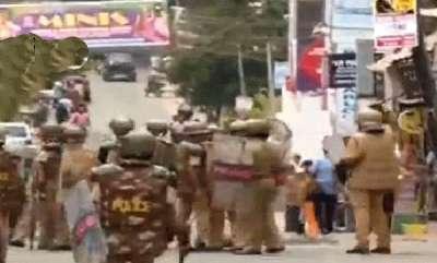 latest-news-police-attack-youth-congress-activist-in-thiruvananthapuram