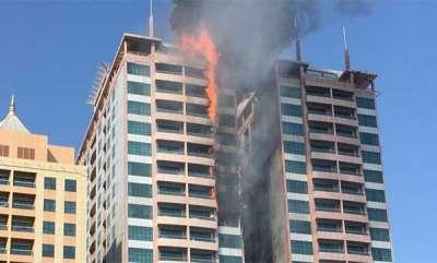 latest-news-fire-at-sharjah-8-flats-burnt