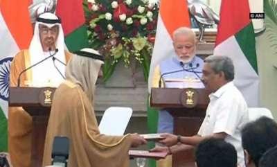 latest-news-india-uae-ink-14-agreements