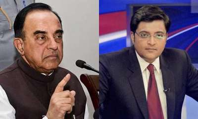latest-news-subramanian-swamy-against-arnab-goswamys-yet-to-be-launched-republic-channel