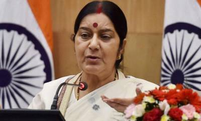 latest-news-indian-shot-at-in-us-is-recovering-sushama-swaraj