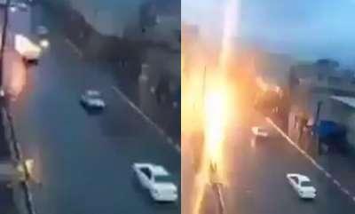 odd-news-car-get-lightning