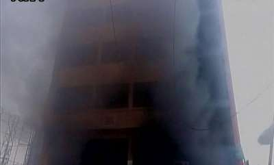 latest-news-building-in-telangana-catches-fire