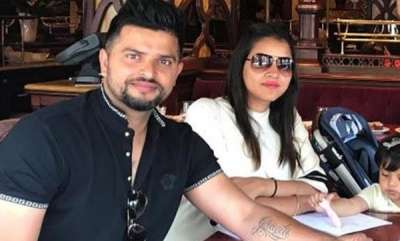 sports-news-away-from-cricket-suresh-raina-spends-time-with-wife-priyanka-daughter-gracia-in-paris