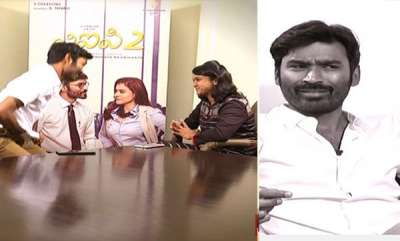 latest-news-dhanush-get-angry-and-walk-out-from-tv-channels-interview