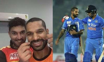 sports-news-yuvaraj-singh-trolled-shikar-dhawan