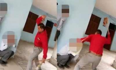 crime-head-master-brutally-hit-children