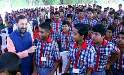 keralam-govt-schools-are-for-only-for-noon-meals-mocks-central-minister