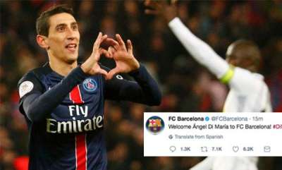 sports-news-barcelona-twitter-account-compromised-hackers-announce-angel-di-maria-signing