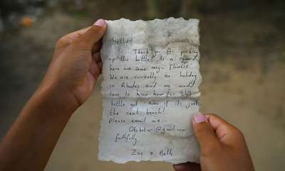 odd-news-couples-message-in-a-bottle-travels-800-kilometres-reaches-gaza