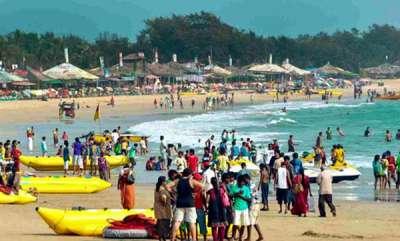 latest-news-goa-banned-drunken-swimming-in-beach