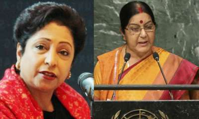 latest-news-sushama-swaraj-and-maliha-lodhis-open-fight-in-un