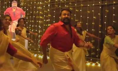 latest-news-mohanlal-dances-for-jimmikki-kammal-song