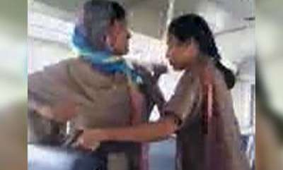latest-news-telangana-woman-cop-conductor-exchange-blows-over-rs-15-bus-fare