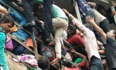 latest-news-sivsena-blames-bjp-for-mumbai-stampede