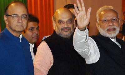 latest-news-modi-amit-shah-arun-jaitly-meet-in-delhi-important-announcements-likely