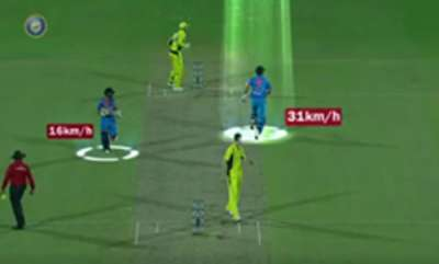 sports-news-mahendra-singh-dhoni-shows-how-fast-he-is-between-the-wickets