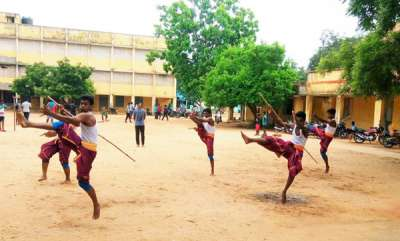 rosy-news-this-man-quit-his-studies-to-revive-the-3000-year-old-sport-of-silambam-in-pune