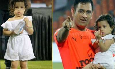 sports-news-ziva-offering-dad-ms-dhoni-and-virat-kohli-water-is-the-cutest-thing