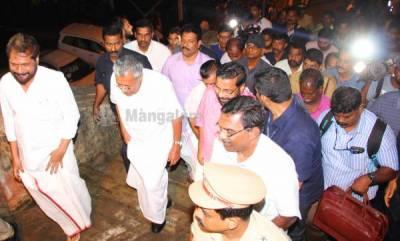 kerala-kerala-cm-visits-sabarimala-to-review-arrangements-for-pilgrimage-season
