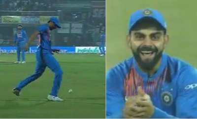 sports-news-ashish-nehra-impresses-virat-kohli-with-his-foot-fielding-effort-in-ind-nz-1st-t20i