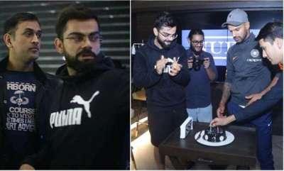 sports-news-virat-kohli-hosts-ms-dhoni-shikhar-dhawan-ravi-shastri-at-his-delhi-restaurant