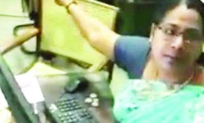 mangalam-special-hospital-employee-womens-bad-behavior-video-goes-viral