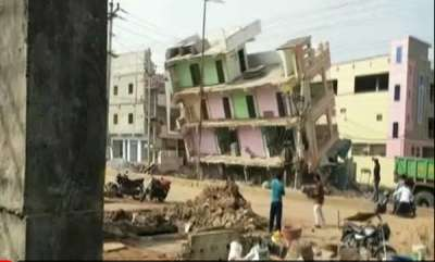 latest-news-empty-building-collapses-in-andhra-pradesh