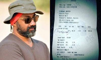 entertainment-after-anusree-cinematographer-sujith-vasudev-pays-rs-100-for-a-tea
