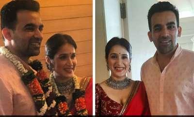 sports-news-saheer-khan-got-married-with-saagarika