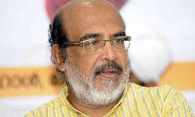 latest-news-ockhi-protest-against-thomas-issac-at-adimalathura