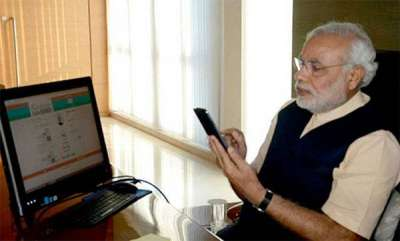 india-modi-admonishes-bjp-mps-for-ignoring-his-texts-directs-to-use-namo-app