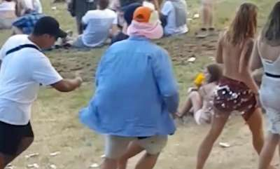 odd-news-topless-woman-attacks-man-groped-nz-festival