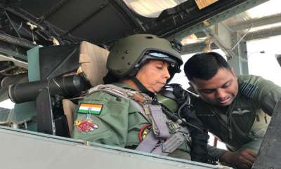 latest-news-nirmala-sitharaman-becomes-first-woman-defence-minister-to-fly-in-sukhoi-su-30