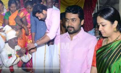 latest-news-surya-and-family-on-workers-marriage-in-tirupathi