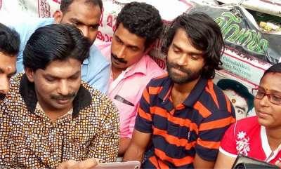 latest-news-santhosh-pandit-visits-sreejith