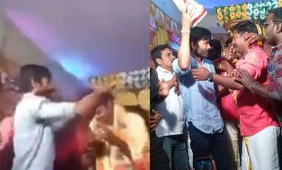 latest-news-dhanush-comes-for-his-fans-wedding