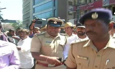 india-bengaluru-pub-brawl-congress-mla-haris-son-surrenders