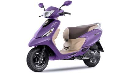 auto-tvs-scooty-zest-110-automatic-scooter-gets-new-purple-colour