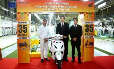 auto-honda-achieves-35-million-two-wheelers-production-milestone-in-india