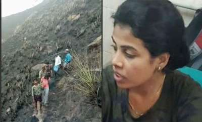 latest-news-fire-broke-out-in-kolukkumala-response-of-vijayalekshmi