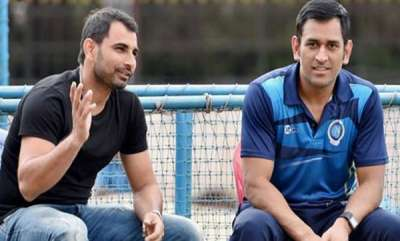 sports-news-ms-dhoni-supporting-mohammad-shami