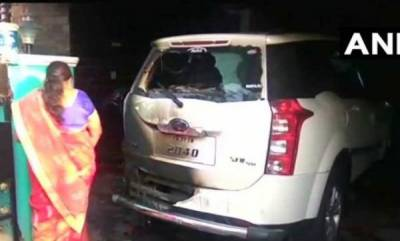 india-petrol-bomb-hurled-at-bjp-district-chiefs-house-in-tn-none-hurt