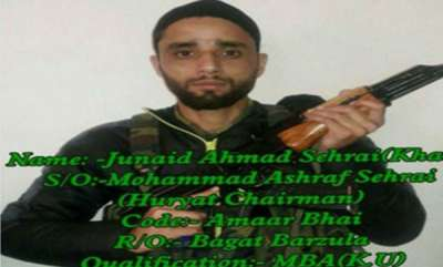 latest-news-tehreek-e-hurriyat-chairmans-son-joins-hizbul