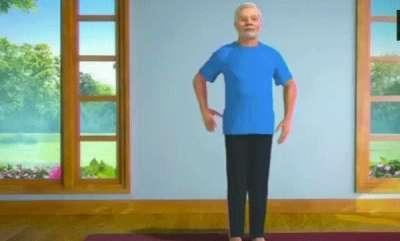 odd-news-narendra-modi-turns-yoga-teacher